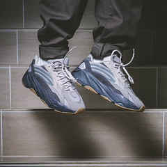 Adidas Yeezy 700 Tephra. (Andy @ Pang Ket Vui ( shootx2 )) Tags: yeezy sneakers 700 tephra chuncky dad daddy shoes fashion hype beast adidas kanye west kicks sneaker photography d800 2470 flash bulky floating levitation