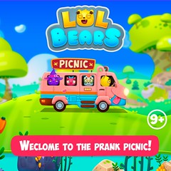Lol Bears (LOL BEARS) Tags: kids prank lol humor ios android game mobile bears cartoon picnic gamedev funny vines forgirls forboys loltime