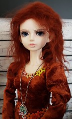 (claudine6677) Tags: bjd msd ball jointed doll asian dolls lillian mystic kids puppe sammlerpuppe