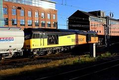 Evening shadows (Chris Baines) Tags: gbrf 60076 dunbar newcastle lynemouth power station tyne coal terminal empty hoppers