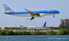 KLM A330 ~ PH-AOM (© Freddie) Tags: aruba oranjestad renaissanceisland klm airbus a330 a332 phaom aua tnca tncaaua fjroll ©freddie