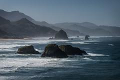 Oregon Coast (MichellePhotos2) Tags: oregon coast pacific ocean beach waves surf rocks nikon d850 nikond850