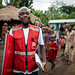 Mugyeni Adam, a Uganda Red Cross volunteer helping to stop the spread of Ebola