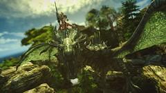 Quick & Dirty #2 (Calithea's Tree House) Tags: skyrim sexy redguard elise leki snake goddess nini dragon