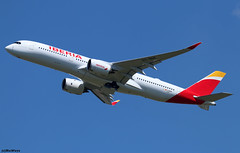 Iberia Airbus A350-941 F-WZNK (EC-NDR) (RuWe71) Tags: iberia iberialíneasaéreasdeespaña ibibe iag internationalairlinesgroup spain españa airbus airbusa350 a350 a359 a350xwb a350900 a350941 a350900xwb a350941xwb airbusa350xwb airbusa350900 airbusa350941 fwznk msn312 ecndr juansebastianelcano toulouseblagnac toulouseblagnacairport toulouse blagnac aéroportdetoulouse aéroporttoulouseblagnac lfbo tls widebody twinjet winglets bluesky