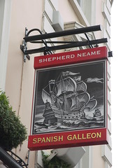 The Spanish Galleon, Greenwich (Shepherd Neame) (Ray's Photo Collection) Tags: london tallships 2014 england uk kodak greenwich thespanishgalleon shepherdneame pub sign publichouse sailing ship sail