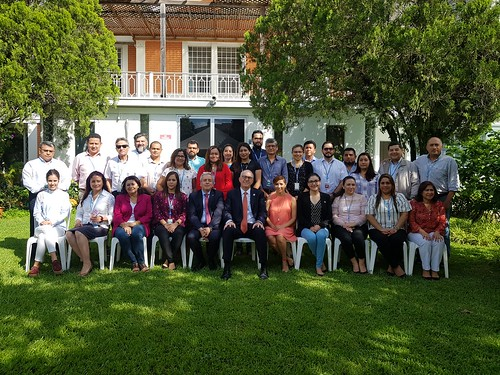Visita de Julio Berdegué a El Salvador
