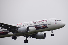 Eurowings (AVIS Livery) A320, D-AEWS, LHR (LLBG Spotter) Tags: lhr aircraft airline a320 egll special eurowings daews