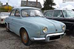 Renault Dauphine (Monde-Auto Passion Photos) Tags: voiture vehicule auto automobile renault dauphine berline bleu blue ancienne classique collection rassemblement france courtenay