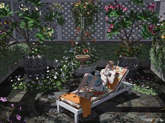 The Butterfly House... (Tonny Rey) Tags: swankevent events deco furniture woman man animation butterfly flowers home garden tlg