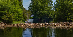 Weir on Lake Baldwin (cizauskas) Tags: lake weir park citypark orlando florida canon canonfd legacylens manualfocus fotodiox