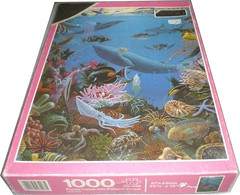 "FALCON F 2 1000 UNIVERSE' 28 3/8X19 3/16 CM ART 3203 DEEP SEA (Andrew Reynolds transport view) Tags: jigsaw ""jigsaw puzzle"" picture pieces large difficult falcon hobby leisure pasttime f 2 1000 universe 28 38x19 316 cm art 3203 deep sea"