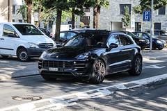 Switzerland (Zürich) - Porsche 95B Macan Turbo (PrincepsLS) Tags: switzerland swiss license plate lugano spotting zh zürich porsche 95b macan turbo