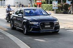 Switzerland (Zürich) - Audi RS6 Avant C7 2015 (PrincepsLS) Tags: switzerland swiss license plate lugano spotting zh zürich audi rs6 avant c7 2015