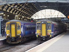 156449 & 156435 at Newcastle (20/6/19) (*ECMLexpress*) Tags: arriva northern class 156 super sprinter dmu 156449 156435 newcastle central ecml