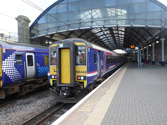 156449 at Newcastle (20/6/19) (*ECMLexpress*) Tags: arriva northern class 156 super sprinter dmu 156449 newcastle central ecml