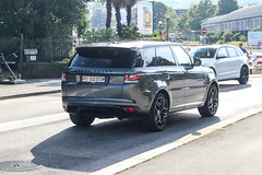 Switzerland (Ticino) - Land Rover Range Rover Sport SVR (PrincepsLS) Tags: switzerland swiss license plate lugano spotting ti ticino land rover range svr