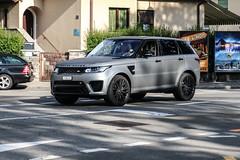 Switzerland (Lucerne) - Land Rover Range Rover Sport SVR (PrincepsLS) Tags: switzerland swiss license plate lugano spotting lu lucerne land rover range sport svr