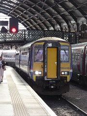 156449 arrives at Newcastle (20/6/19) (*ECMLexpress*) Tags: arriva northern class 156 super sprinter dmu 156449 newcastle ecml
