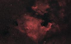 North America Nebula (AstroBackyard) Tags: astrophotograhphy astronomy space telescope camera 60da canon william optics redcat 51 refractor deep sky nebula north america ngc 7000 pelican narrowband emission