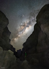 Milkyway Selfie (davidbotta) Tags: milkyway stars night sky nightscape landscape astro astrophotography canyon mountain rock epic explore exploration explored afrika africa namibia