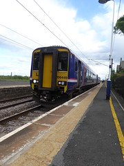 156449 at Acklington (20/6/19) (*ECMLexpress*) Tags: arriva northern class 156 super sprinter dmu 156449 acklington ecml