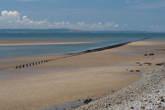 West Shore from Great Orme-E6101723 (tony.rummery) Tags: em10 llandudno mft microfourthirds omd olympus perspective pipes sand seascape wales westbeach unitedkingdom