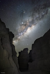 Infinity Canyon (davidbotta) Tags: milkyway stars night sky nightscape landscape astro astrophotography canyon mountain rock epic explore exploration explored afrika africa namibia