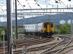 156444 arrives at Newcastle (20/6/19) (*ECMLexpress*) Tags: arriva northern class 156 super sprinter dmu 156444 newcastle central ecml