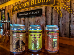 2019 - photo 171 of 365 - Horto beer (old_hippy1948) Tags: cans sign malthouse bar brewery
