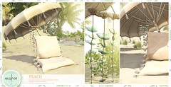 Summerfest- Peach- Ariskea (ariskea) Tags: decor beach ariskea new furniture boho
