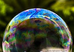 Soap bubble (Santo Salvatore Foggetti) Tags: soapbubble bolladisapone bolla sapone bubble riflessi iride sony sonya7 foggetti micronikkor55ai