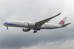 B-18916 A350 China Airlines (Jersey Airport Photography) Tags: b18916 a359 egkk lgw airbusa350941 chinaairlines