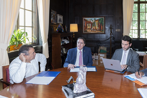 Assistant Secretary General meets with the Assistant Director of PAHO Dr. Jarbas Barbosa da Silva
