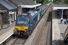 68003 at Wymondham (tibshelf) Tags: wymondham class68 drs 68003