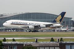 9V-SKQ (hartlandmartin) Tags: 9vskq singaporeairlines airbus a380800 heathrow lhr egll aircraft airport airline airplane aviation nikon d7200 70300afp