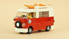 Old VW van T1/T2 (de-marco) Tags: lego car vehicle van vw volkswagen t1 t2 city town 4wlc 4stud
