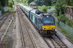 68016 at Wymondham (tibshelf) Tags: wymondham class68 drs 68016