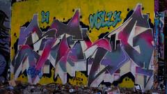Oldenburg - (street: Melkbrink) 740th picture / Graffiti, street art (tusuwe.groeber) Tags: projekt project lovelycity graffiti germany deutschland lowersaxony oldenburg city streetart niedersachsen farbig farben favorit colourful colour sony sonyphotographing nex7 bunt red rot art gebäude building gelb grün green yellow konzept concept wall wand halloffame wandgestaltung lager lagerhalle hall halle melkbrink