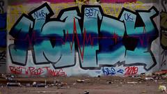 Oldenburg - (street: Melkbrink) 741st picture / Graffiti, street art (tusuwe.groeber) Tags: projekt project lovelycity graffiti germany deutschland lowersaxony oldenburg city streetart niedersachsen farbig farben favorit colourful colour sony sonyphotographing nex7 bunt red rot art gebäude building gelb grün green yellow konzept concept wall wand halloffame wandgestaltung lager lagerhalle hall halle melkbrink