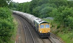 66621 - Water Orton, Warwickshire (The Walsall Spotter) Tags: class66 diesel locomotive freightliner 66621 waterorton warwickshire hope earlessidings walsall freightterminal networkrail uk britishrailways