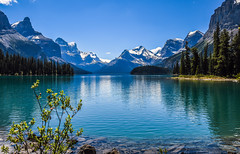 Today Was a Great Day (10000 wishes) Tags: lake jasper reflections mountains beauty idyllic scenic forest travelphotography canada mirror