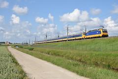 NSR 186-112 at Nieuw-Vennep, June 21, 2019 (cklx) Tags: nieuwvennep hsl hogesnelheidslijn intercitydirect icd thalys