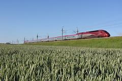 Thalys 4346 at Nieuw-Vennep, June 21, 2019 (cklx) Tags: nieuwvennep hsl hogesnelheidslijn thalys