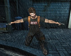#174 - always in action (by Blog: Male Fashion Modern) Tags: rekt pose backdrop photo men style secondlife action