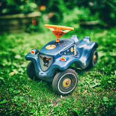 Bobby Car (ChristianMandel) Tags: bobbycar toy spielzeug bokehpanorama brenizermethod ilce7iii sonya7iii sel85f18 hugin mercatorprojection