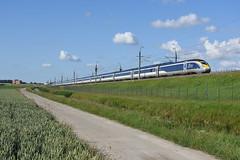 Eurostar 4011/4012 at Nieuw-Vennep, June 21, 2019 (cklx) Tags: nieuwvennep hsl hogesnelheidslijn eurostar
