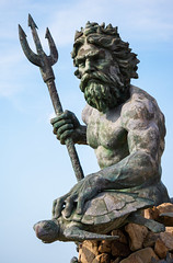 King Neptune (zachclarke) Tags: neptune neptunestatue virginiabeach vb virginia va 2019 may downtown boardwalk statue summer nikon d5600 nikond5600 zachclarke2 zachclarke