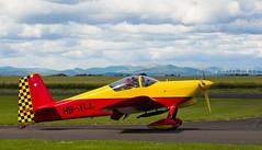 HB-YLL RV-6, Scone (wwshack) Tags: egpt psl perth perthkinross perthairport perthshire rv6 scone sconeairport scotland vans hbyll