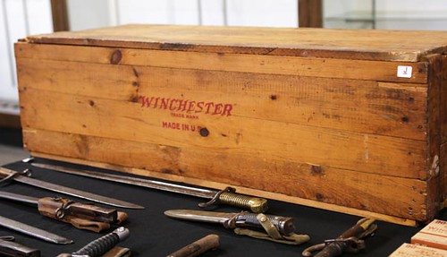 Large Winchester Ammo Wooden Crate ($302.40)